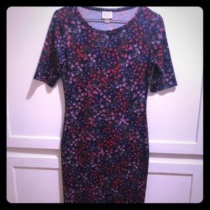 XXS LuLaRoe Julia Dress in excellent condition